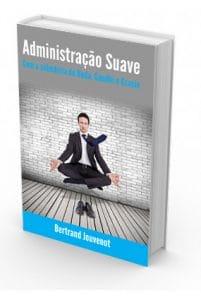 Couverture de la version brésilienne de Managing Softly de Bertrand Jouvenot