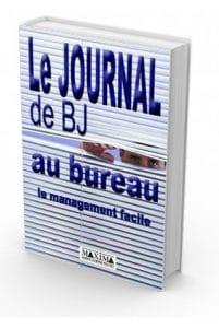 Couverture du livre Le Journal de BJ au bureau de Bertrand Jouvenot